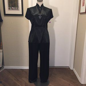 NWT Vintage 90s Asian-style two-piece set